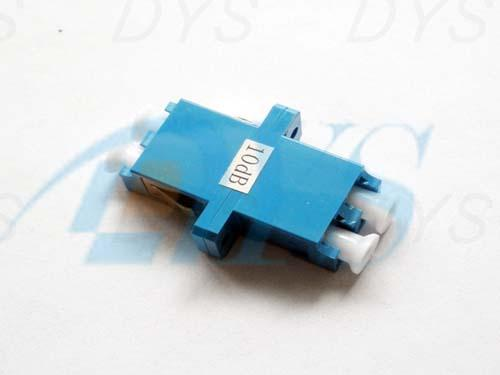 LC Duplex Fiber Optic Attenuator Blue Stable For Passive Optical Networks
