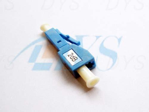 LC 2 dB Blue Fiber Optic Attenuator Environmental Stable With 1240nm - 1620nm Wavelength