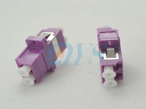Zirconia Sleeve LC Duplex Fiber Optic Adapter For Telecommunications