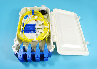 12 Port SC FTTH-020 Series kotak terminasi serat optik 0.9mm 2.0mm 3.0mm Pigtail Diameter