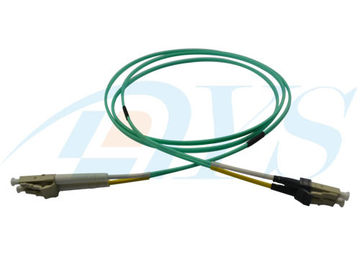 Mini LC - LC Jumper Kabel Serat Optik Patch 50/125 OM3 Multimode Untuk Konektor LC