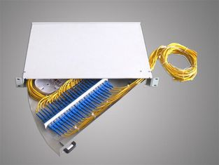 Fiber Optic Terminal Box,1U 19'' rotary type 24core rack mount