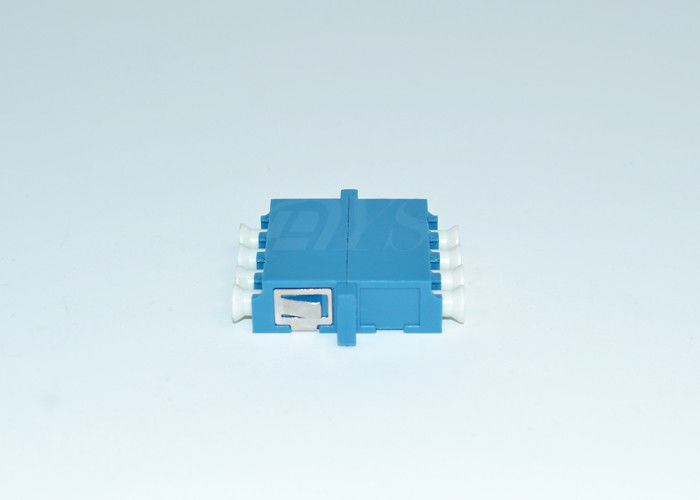 Cina LC blue 4 core Fiber Optic Adapter For Telecommunications , Optical Networks pemasok