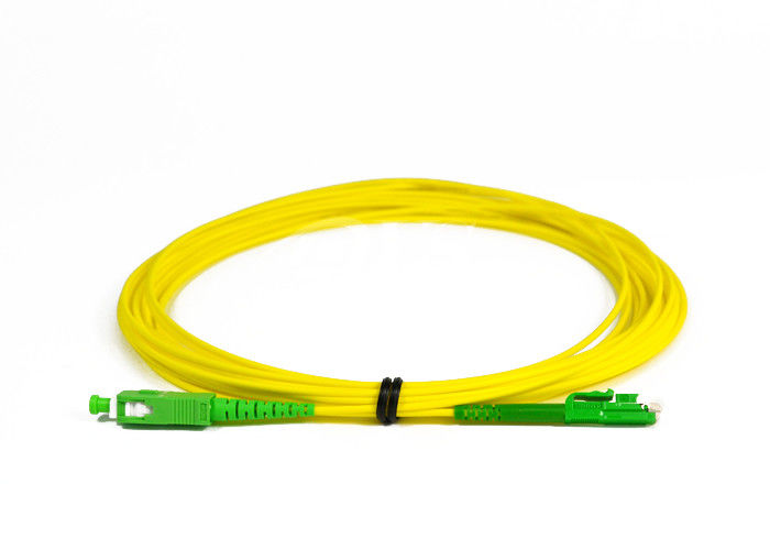 Cina SC / APC -LX.5 / APC Simplex Fiber Optic Patch Cord for Access Network pemasok