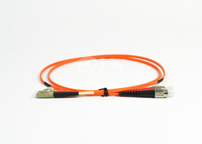 Cina Orange Duplex FC to LC Optical Fiber Patch Cord for Access Network pemasok
