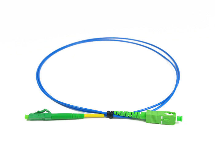 Cina SC / APC E2000 / APC Simplex Fiber Optic Patch Cord for Access Network pemasok