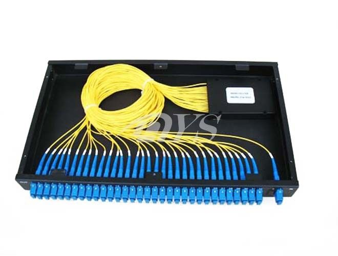 1 x 32 PLC Optical Fiber Splitter SC / UPC Connector , Network Redundancy pemasok