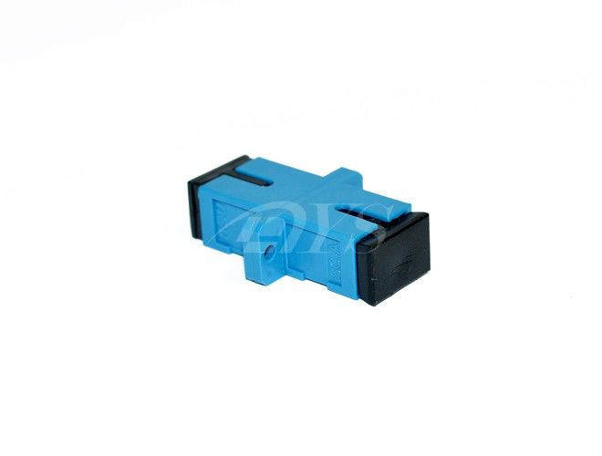 SC blue Singlemode Simplex Fiber Optic Adapter For Fiber To the Home pemasok