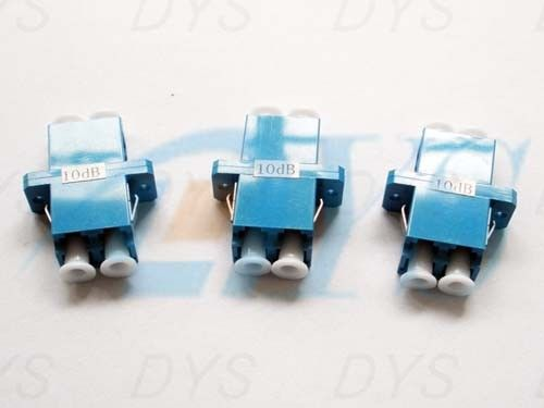 LC Duplex Fiber Optic Attenuator Blue Stable For Passive Optical Networks pemasok