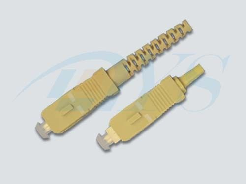 Cina SC Simplex Multi Mode Optical Fiber Connectors With Low insertion Loss pemasok