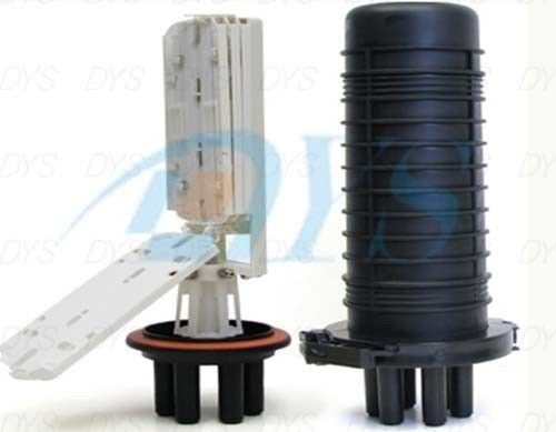 Cina 216 Core Dome Fiber Optic Splice Closure , Heat Shrink Type Sealing pemasok
